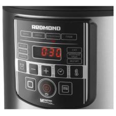 Мультиварка REDMOND RMC-M38,  860Вт,   черный/серебристый