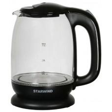 Чайник электрический STARWIND SKG1210, 2200Вт, черный