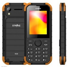 Телефон Strike R30 black+orange