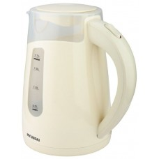 Чайник электрический HYUNDAI HYK-P2030, 2200Вт, кремовый