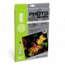 Фотобумага Cactus CS-MA422020DS A4/220г/м2/20л./белый матовое для струйной печати