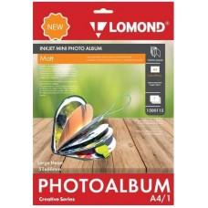 Фотобумага Lomond Мини Альбом большое сердце 1500115 A4 51x68мм/1л./белый матовое для струйной печати