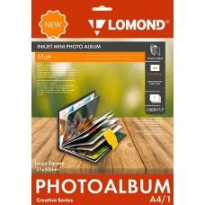 Фотобумага Lomond Мини Альбом большой квадрат 1500117 A4 32x40мм/1л./белый матовое для струйной печати