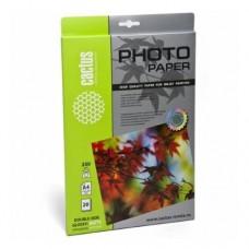 Фотобумага Cactus CS-GMA423020 A4/230г/м2/20л./белый глянцевое/матовое для струйной печати