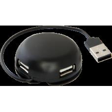 Универсальный USB разветвитель Defender#1 Quadro Light USB 2.0, 4 порта