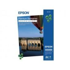 Бумага Epson Premium Semigloss Photo Paper A4 C13S041332