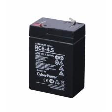 Аккумуляторная батарея SS CyberPower RC 6-4.5 / 6 В 4,5 Ач RC 6-4.5