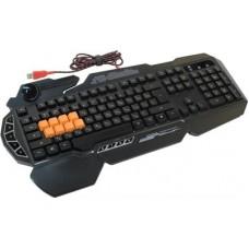 Клавиатура A4-Tech Bloody B318 black (подставка для запястий)