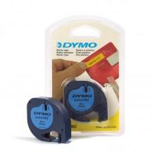 Картридж ленточный Dymo LT S0721650 черный/голубой для Dymo