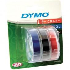 Картридж ленточный Dymo Omega S0847750 белый/синий/черный/красный набор x3 упак. для Dymo