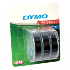 Картридж ленточный Dymo Omega S0847730 белый/черный набор x3 упак. для Dymo