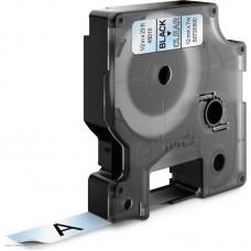 Картридж ленточный Dymo D1 S0720500 черный/прозрачный для Dymo