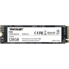Накопитель SSD Patriot PCI-E x4 128Gb P300P128GM28 P300 M.2 2280