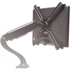 Кронштейн-адаптер для мониторов Arm Media LCD-M2 черный макс.7кг настольный поворот и наклон верт.перемещ.