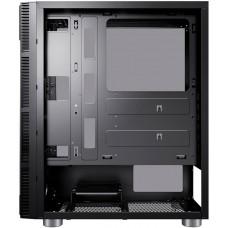 Корпус Accord 3407 черный без БП ATX 8x120mm 2xUSB2.0 1xUSB3.0 audio bott PSU