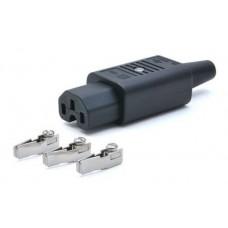Вилка Lanmaster (LAN-IEC-320-C13) (упак.:1шт)