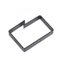 Органайзер кабельный одинарный 90х65 мм, цвет черный