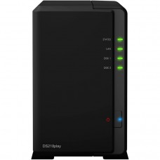 Сетевой накопитель Synology DS218play DC1,4GhzCPU/1Gb/RAID0,1/up to 2hot plug HDDs SATA 3,5