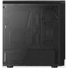 Корпус Aerocool RIFT черный без БП ATX 1x120mm 2xUSB2.0 1xUSB3.0 audio CardReader bott PSU