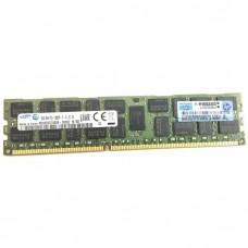 Оперативная память HPE 16GB PC3-12800R (DDR3-1600) Dual-Rank x4 Registered
