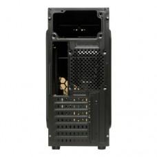 Корпус Miditower ExeGate EVO-8207 Black-Red light ATX без БП EX281255RUS (EX281255RUS)