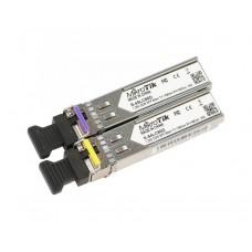 Модуль MikroTik Pair of SFP modules, S-45LC80D (1.25G SM 80km T1490nm/R1550nm, Single LC-connector) + S-54LC80D (1.25G SM 80km T1550nm/R1490nm, Single LC-connector)