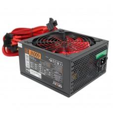 Блок питания Ginzzu PC600 14CM(Red)