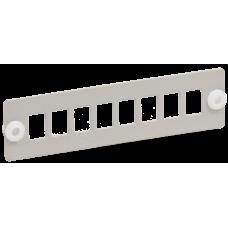 Панель ITK для 8-ми оптических адаптеров (SC или LC-Duplex в 19