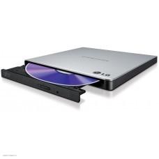 Привод DVD-RW LG GP57ES40 серебристый USB внешний oem