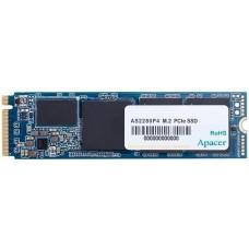 Твердотельный накопитель Apacer SSD AS2280P4 256Gb M.2 PCIe Gen3x4 MTBF 1.5M, 3D TLC, Retail (AP256GAS2280P4-1)