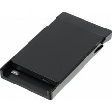 Внешний корпус для HDD/SSD AgeStar 3UB2P3 SATA III пластик черный 2.5