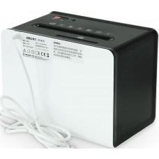 Шредер Deli 9931 белый (секр.P-4)/фрагменты/4лист./2.5лтр./скрепки/скобы/пл.карты