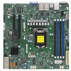 Материнская Плата SuperMicro MBD-X11SCH-LN4F-O Soc-1151 iC246 mATX 4xDDR4 8xSATA3 SATA RAID i210 4xGgbEth Ret