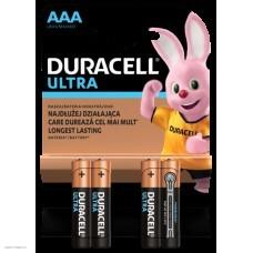 Батарейка Duracell Ultra Power AAА 4шт. LR03/4BL