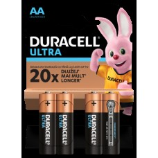 Батарейка Duracell Ultra Power AA 4шт. LR6/4BL