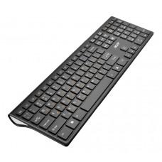 Клавиатура Acer OKR020 черный USB беспроводная slim Multimedia