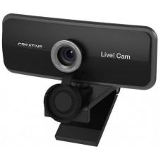 Камера Web Creative Live! Cam SYNC 1080P черный 2Mpix USB2.0 с микрофоном