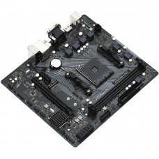 Материнская плата Asrock A520M-HVS Soc-AM4 AMD A520 2xDDR4 mATX AC`97 8ch(7.1) GbLAN RAID+VGA+HDMI