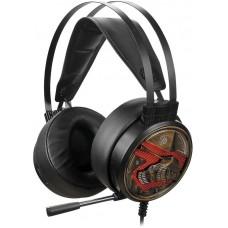 Наушники с микрофоном A4 Bloody G650S черный/бронзовый 2м USB оголовье (G650S)