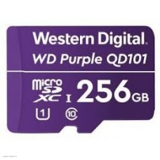 Флеш карта microSDXC 256Gb Class10 WD WDD256G1P0C Purple w/o adapter
