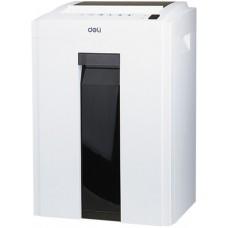 Шредер Deli 9951 белый (секр.P-4)/фрагменты/8лист./16лтр./скрепки/скобы/пл.карты/CD