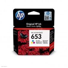 Картридж струйный HP 653 3YM74AE многоцветный (200стр.) (5мл) для HP DeskJet Plus Ink Advantage 6075/6475