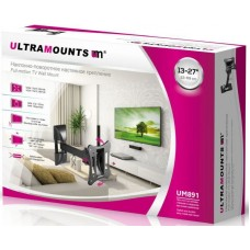 Кронштейн для телевизора Ultramounts UM 891 черный 13