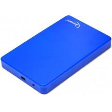 Внешний корпус для HDD Gembird EE2-U2S-40P, Blue