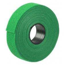 Хомут-липучка ITK HKVRG-W20-L5000 5000x20мм (упак:1шт) полиамид внешний (-40/+80) зеленый
