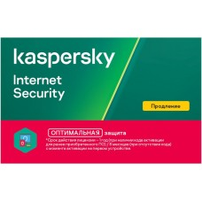 ПО KASPERSKY Internet Security Multi-Device 2 устр 1 год Продление лицензии Card (KL1939ROBFR)