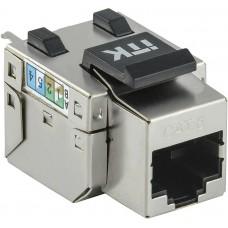 Модуль ITK Keystone Jack кат. 6 FTP 110 IDC 90 град. розет. CS1-1C06F-11