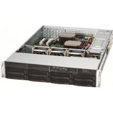 Корпус Supermicro SuperChassis 825TQ-600LPB Rack 600Вт Чёрный 2U CSE-825TQ-600LPB