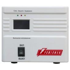 Стабилизатор POWERMAN AVS 500A, ступенчатый регулятор, 500ВА/250Вт, 160-260В, максимальный входной ток 5А, 1 евророзетка, IP-20, напольный, 190мм х 150мм х130мм, 2.11 кг. POWERMAN AVS 500A