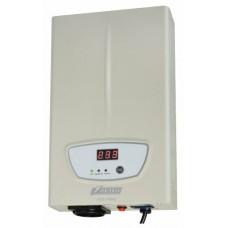 Стабилизатор POWERMAN AVS 1000S, ступенчатый регулятор, цифровые индикаторы уровней напряжения, 1000ВА, 140-260В, максимальный входной ток 7А, 1 евророзетка, IP-20, навесного исполнения, 290мм х 175мм х 68мм, 3,09 кг. POWERMAN AVS-1000S